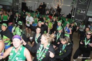 Shamrock Tent dance party